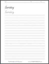 printable lined paper with dotted midline dashed line handwriting practice paper printable worksheet for