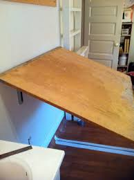 Drafting Table Plans Wall Mounted Drafting Table Table Designs