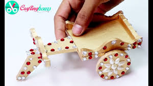handicrafts for home decoration how to make awesome ox cart handicraft showpiece diy home decor