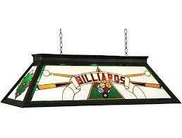 pool table light fixtures stained glass pool table light fixture ram products billiards series