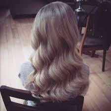 vintage hair wavy hair wedding hair bridal hair long