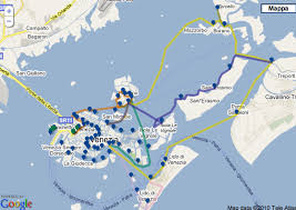venice vaporetto map vaporetto map routes lines and stops livingvenice