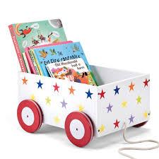 childrens book shelves pull along book cart 20percent off bookcases u0026 bookshelves