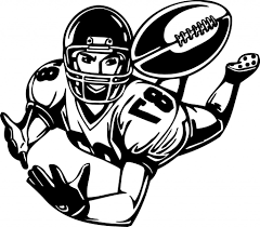 how to draw a cartoon football player free download clip art
