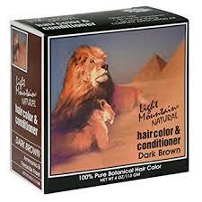 light mountain natural hair color black amazon com light mountain natural hair color conditioner dark