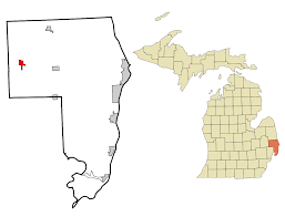 List Of Cities Villages And Townships In Michigan Wikipedia by Capac Michigan Wikipedia