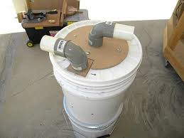 box fan filter woodworking mini cyclone bucket dust collector