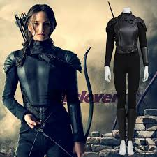 katniss costume the hunger costume katniss everdeen black suit
