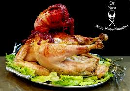 forget boring turkey why not make a roasted facehugger for this