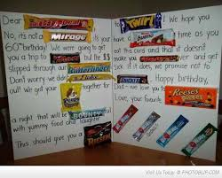 12 best chocolate bar letter images on pinterest birthday ideas