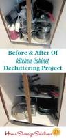 photo of kitchen cabinets how to declutter kitchen cabinets