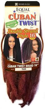 black cuban twist hair freetress equal cuban twist braid 12 16 inch