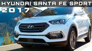 hyundai santa fe sport specifications 2017 hyundai santa fe sport review rendered price specs release