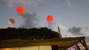 Lighted Balloons Vincenti Jim Beam Event Clients Fly Away S A R L
