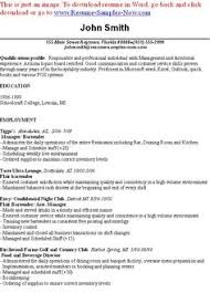Samples Of Resumes by Sample Resume For Graduate Application Best Resumes