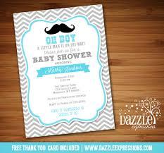 mustache baby shower invitations printable mustache baby shower invitation chevron