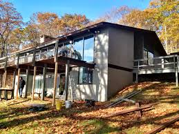 Cantilevered Deck by Structural Rehabilitation Of A U0027balcony Deck U0027 On A Classic 1960 U0027s