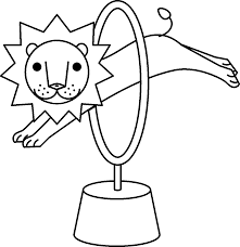 circus lion coloring pages getcoloringpages com