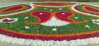 rangoli decoration flower rangoli decorations yellow flower decoration service