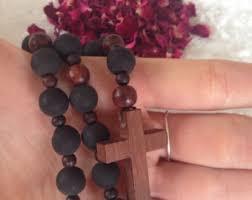 petal rosary petal rosary etsy
