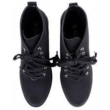 womens black chelsea boots uk s black canvas lace up block heel chelsea boots
