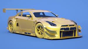 Nissan Gtr Yellow - assetto corsa more nissan gt r gt3 renders