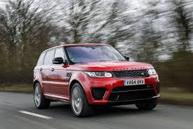 land rover svr price range rover sport svr 2015 review auto express
