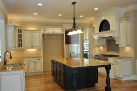 White Kitchen Black Island Rustic Kitchen Best Antique White Kitchen Cabinets Decor Ideas