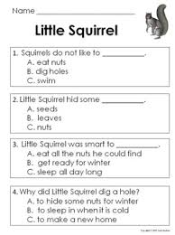 grade reading comprehension passages and questions guided reading
