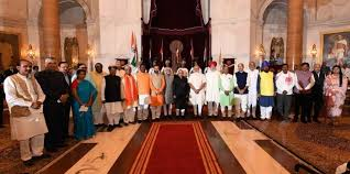 Central Cabinet Ministers List Of Cabinet Ministers With Their Portfolio And Constituency