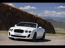 bentley sports car white 2010 bentley continental supersports convertible white satin