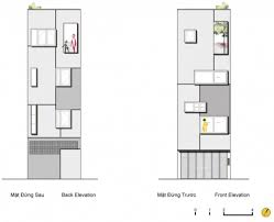 house plan four storey row house with an amazing stairwell row