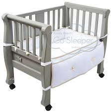 Baby Bed Attached To Parents Bed Sleigh Bed Co Sleeper Luxurious And Beautiful Baby Bassinet