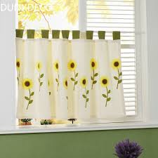 Country Style Kitchen Curtains by Online Get Cheap Yellow Country Curtains Aliexpress Com Alibaba