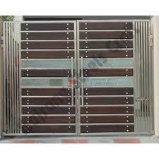 designer stainless steel main gates 500x500 500—500