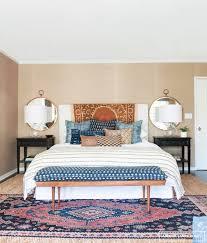 Area Rug In Bedroom Styling Tips Layering Rugs 4 Ways Erika Brechtel