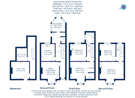 Walton House Floor Plan by 4 Bed Terraced House For Sale In Walton Street Oxford Ox1