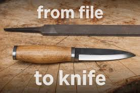 from file to knife with simple tools 9 steps with pictures