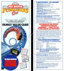 Six Flags Over Texas Holiday Hours Six Flags Great Adventure Funseeker Cards