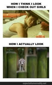 Braces Meme Girl - how i think i look when i check out girls meme guy