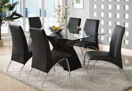 Dining Room Sets 6 Chairs by Amazon Com Furniture Of America Rivendale 7 Piece Modern Dining
