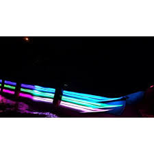 boat led strip lights pontoon boat under deck led lights kit blue