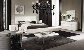 canova bedroom set in white high gloss by alf da fre