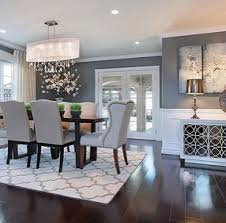attractive dining room decor gray with best gray dining tables