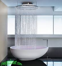 unique bathroom designs like showering in the c a s a bath room