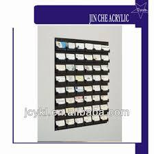 48 pocket wall mount business card holder rack buy black acrylic
