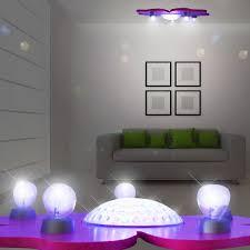 veilleuse chambre étoile magique projecteur luminaire de plafond ø550mm rgb led