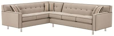 Rowe Sectional Sofas by Rowe Dorset Corner Sectional With Tufted Back Ahfa Sofa
