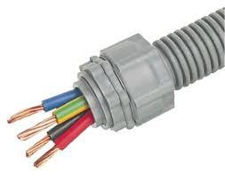rs pro pe flexible conduit grey 16mm ip55 5m