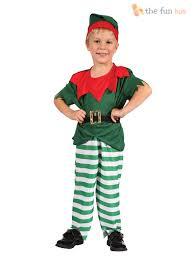 age 2 12 kids elf costume boys girls christmas fancy dress santa